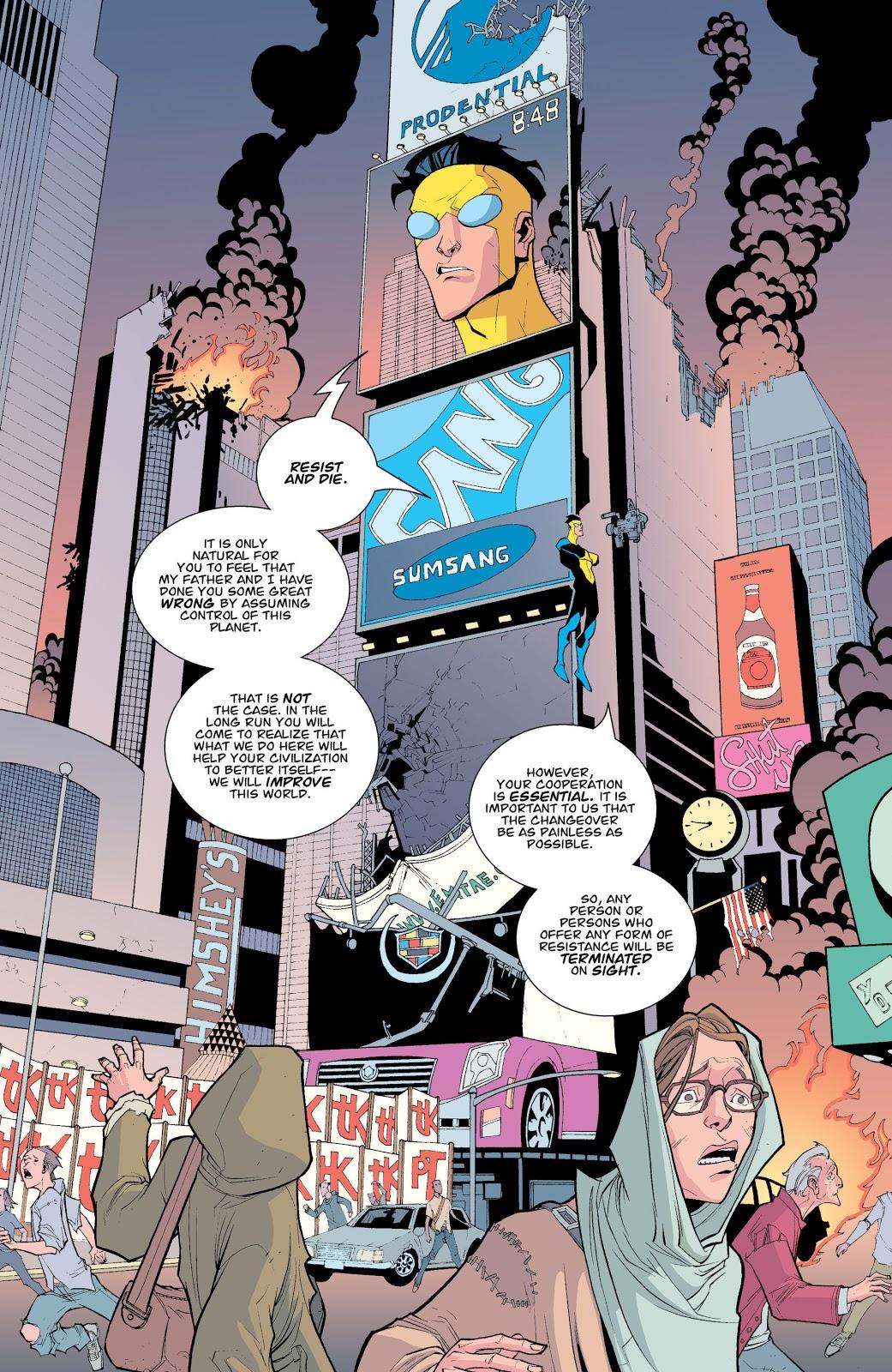 Omni-Man And Invincible Kills The Immortal And Robot