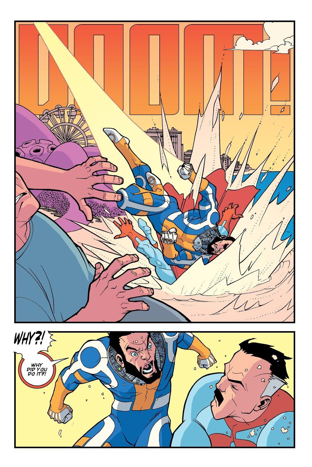 Omni-Man VS The Immortal