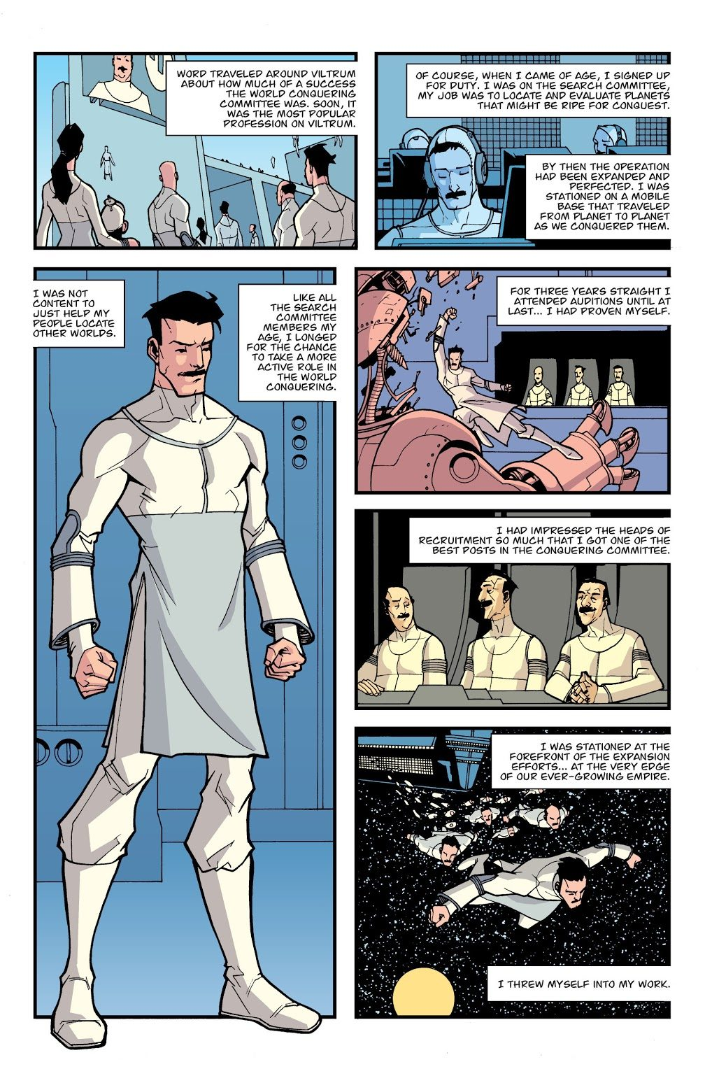 Omni-Man's Real Origin Story