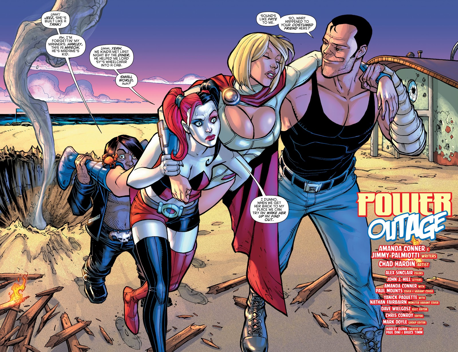 Power Girl (Harley Quinn Vol. 2 #11)