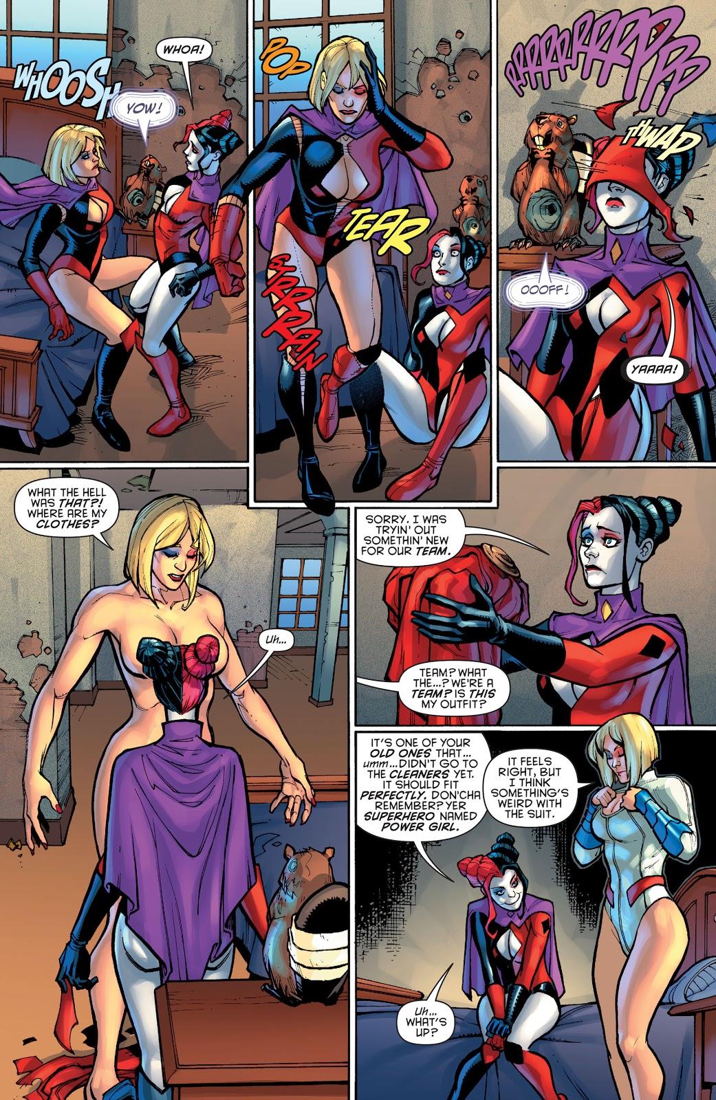 Power Girl Has Amnesia
