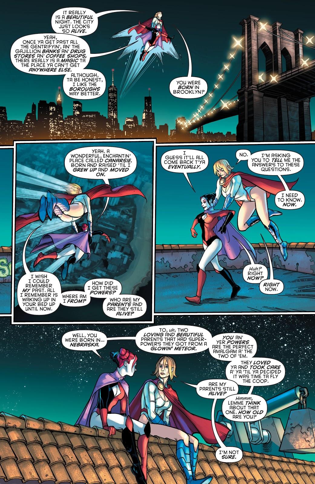 Power Girl's Memory Returns