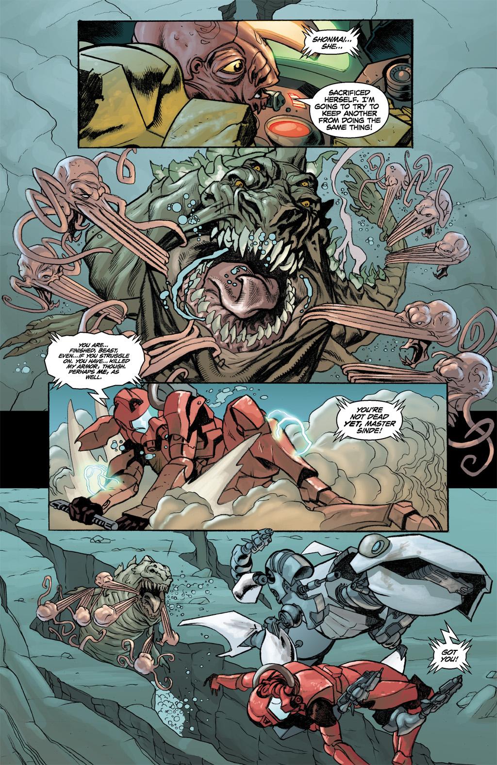 Treis Sinde VS A Sea Leviathan