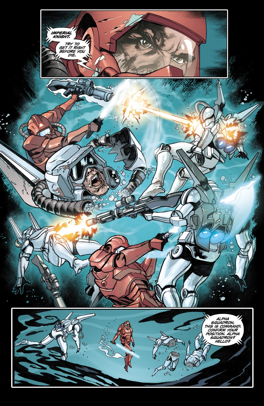 Treis Sinde VS An Acklay Battle Fortress