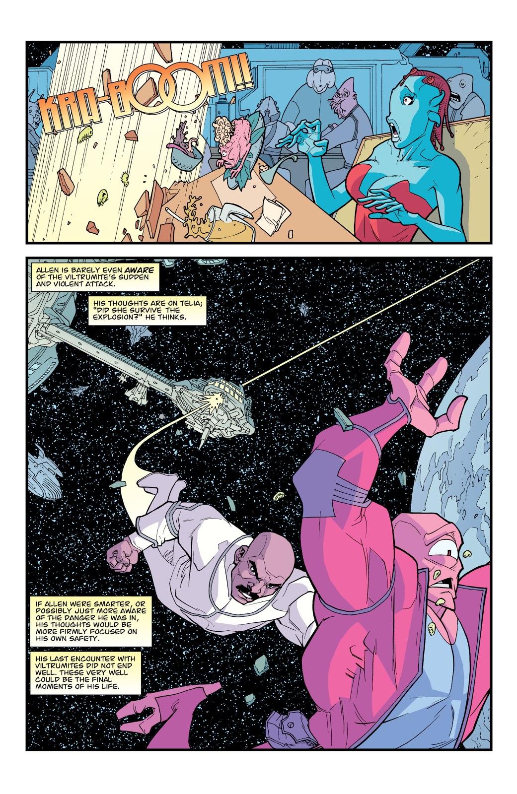 Viltrumites Viciously Attacks Allen The Alien