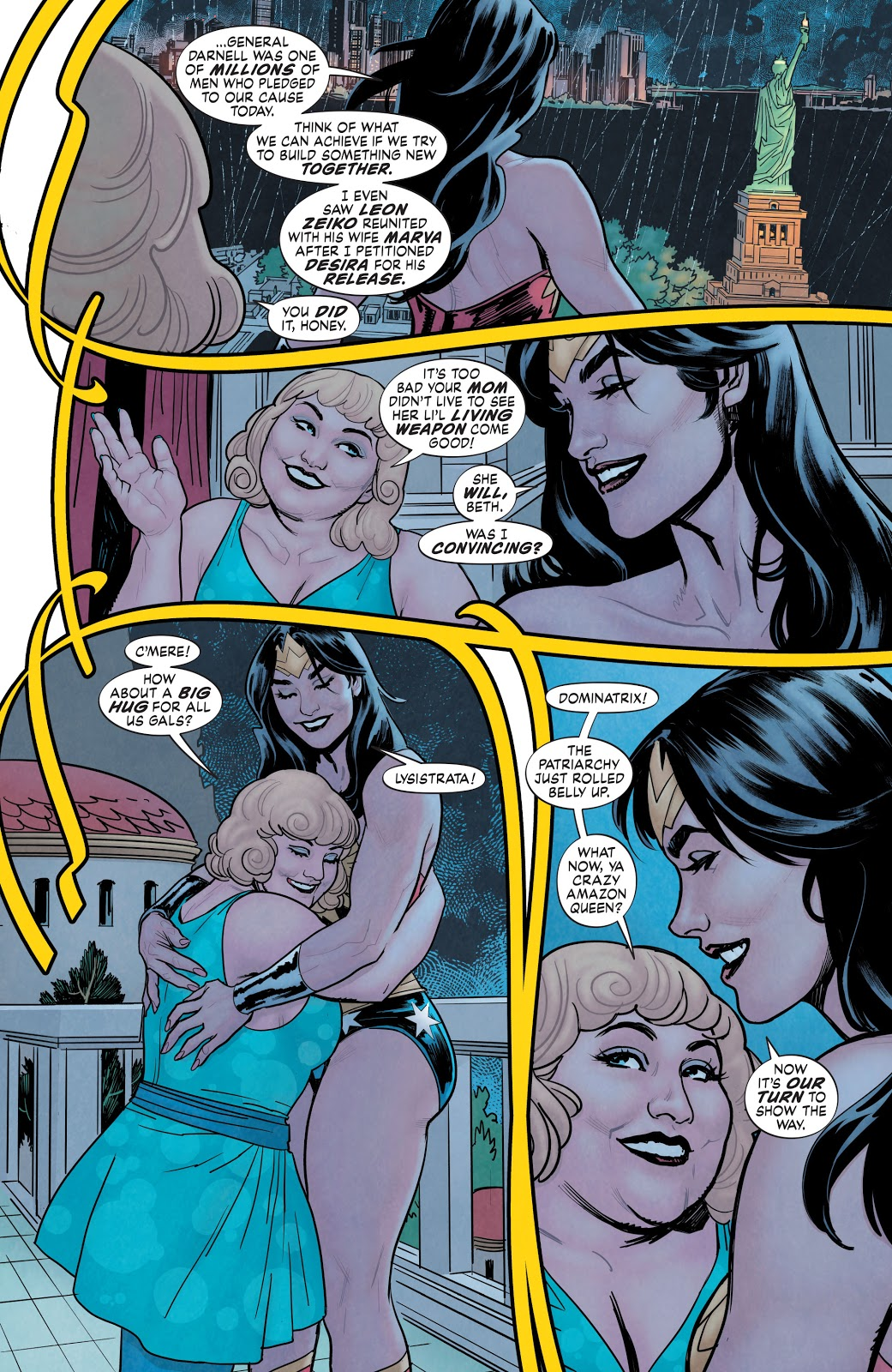 Wonder Woman Takes Over The World (Earth One)