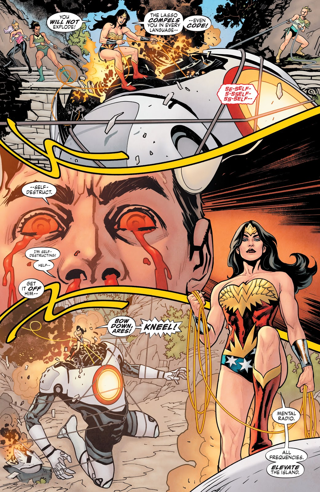 Wonder Woman VS ARES Mark 2 (Earth One)
