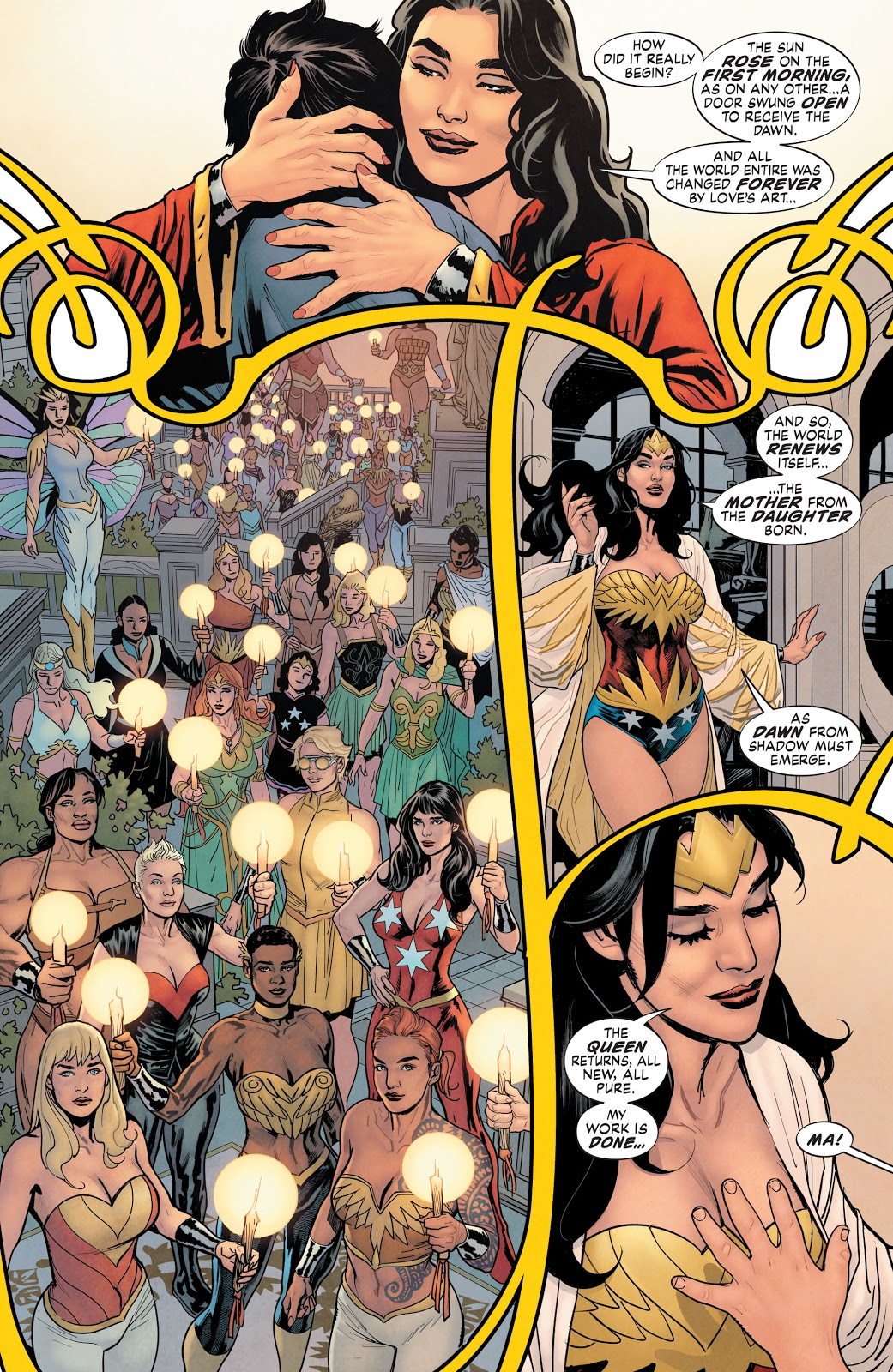 Wonder Woman's Daughter (Earth One)