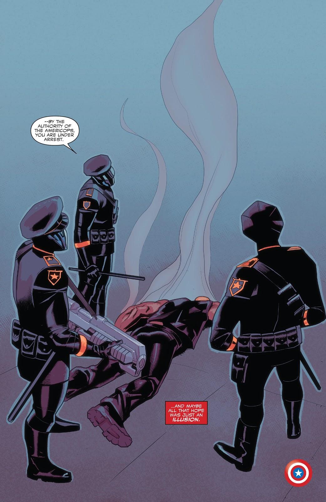 Americorps (Captain America: Sam Wilson #17)