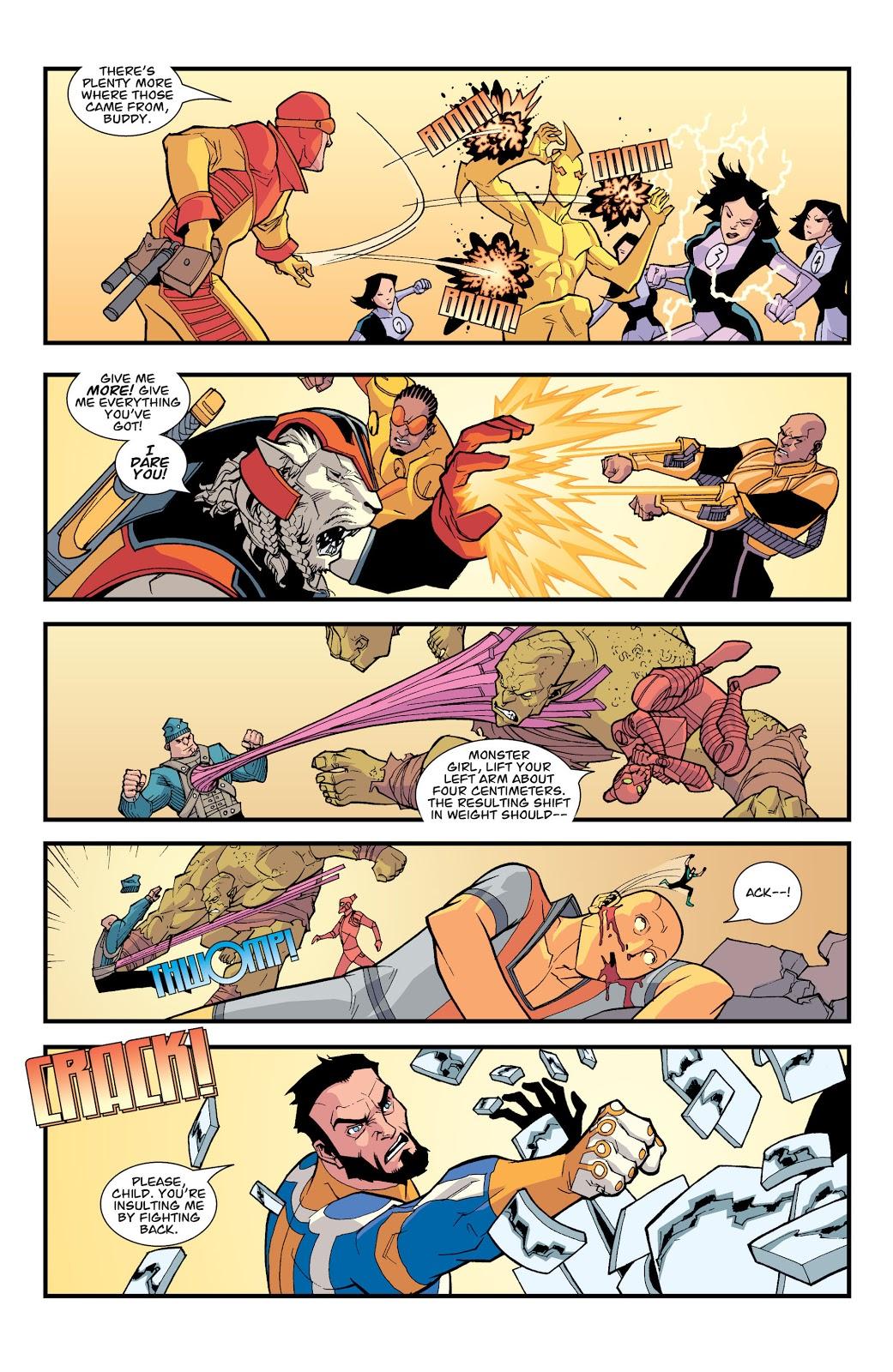 Battle Beast VS Invincible, Black Samson And Bulletproof