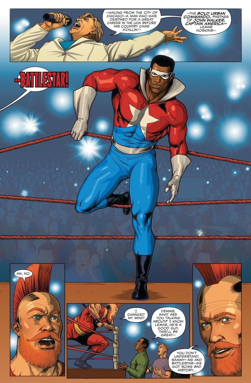 Battlestar (Captain America Sam Wilson #15)