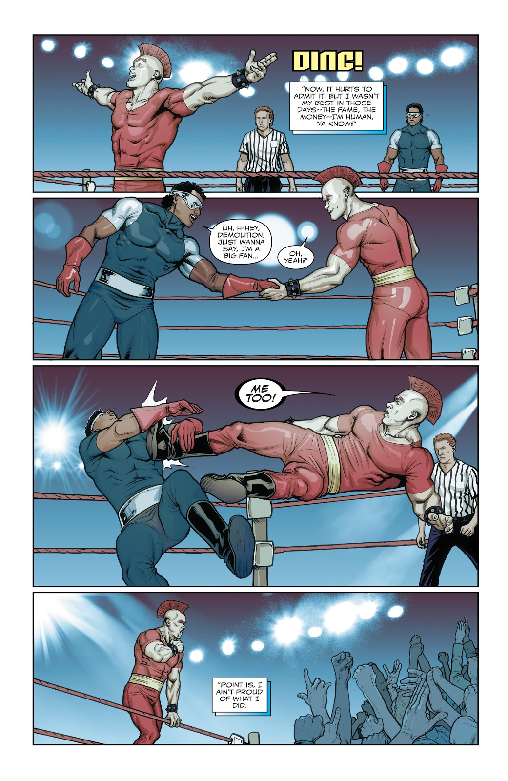 Battlestar's Wrestling Career