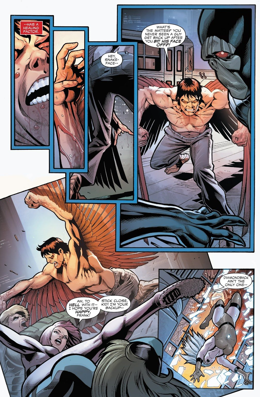 Captain America And The Falcon's Telepathic Bond
