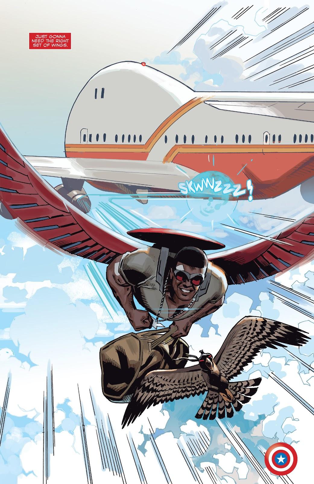 Captain America Sam Wilson #2