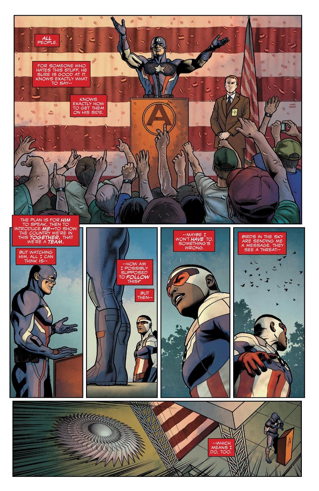 Captain America Sam Wilson VS Chance