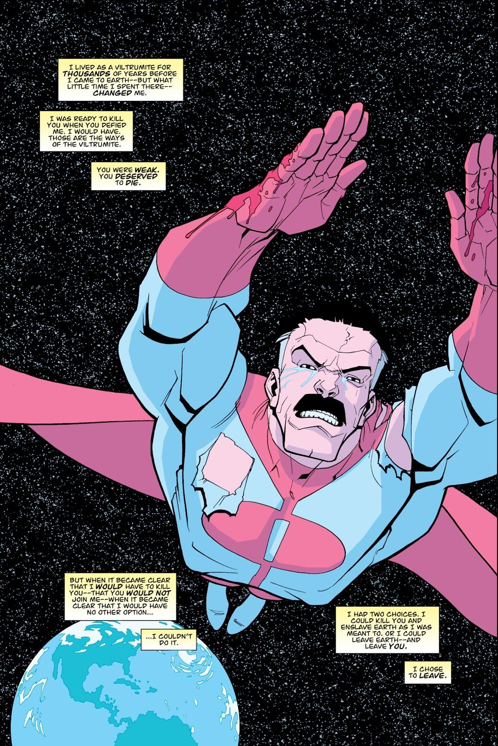 How Omni-Man Became Ruler Of A Planet