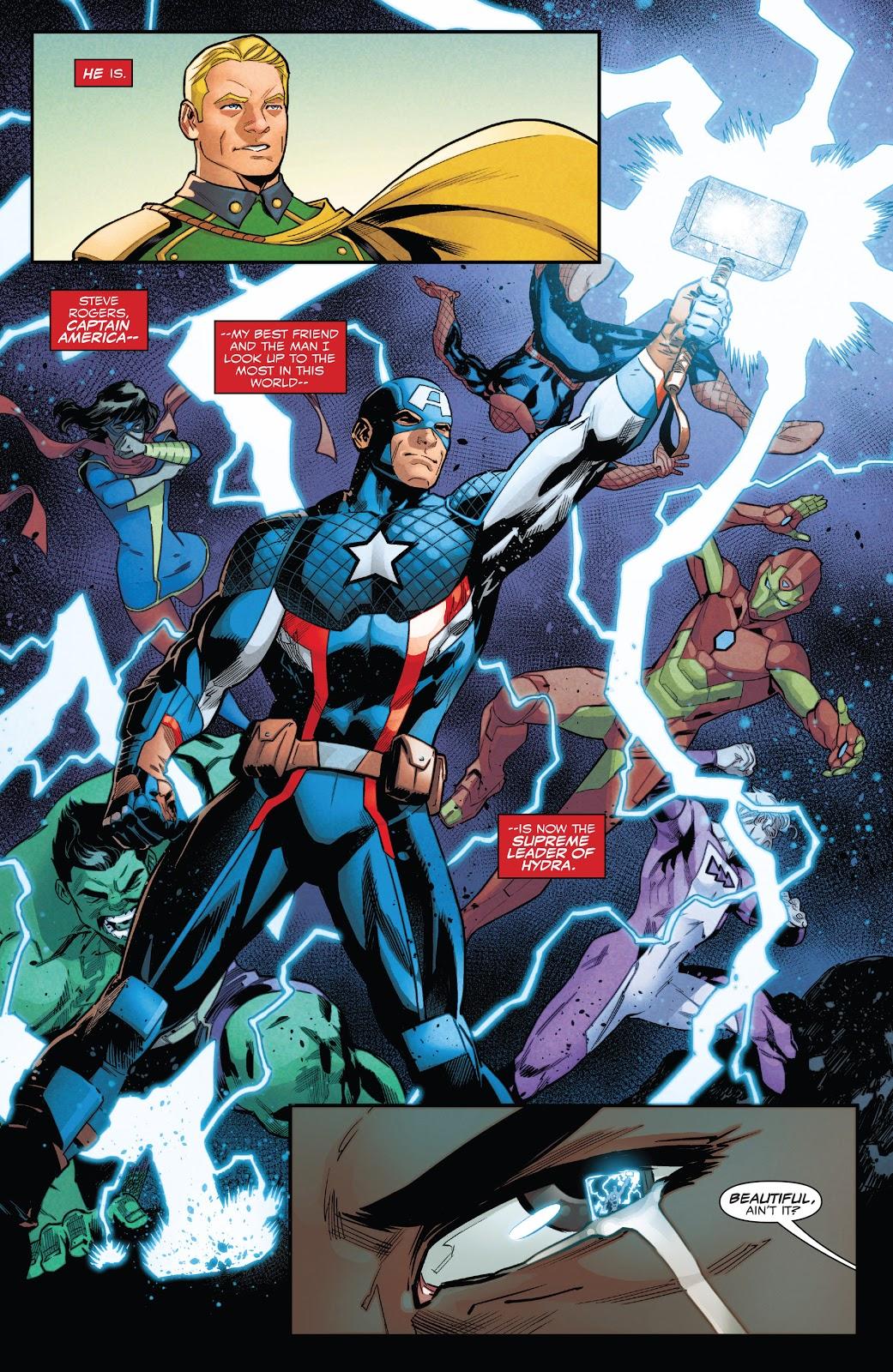 Hydra Cap (Captain America Sam Wilson #22)