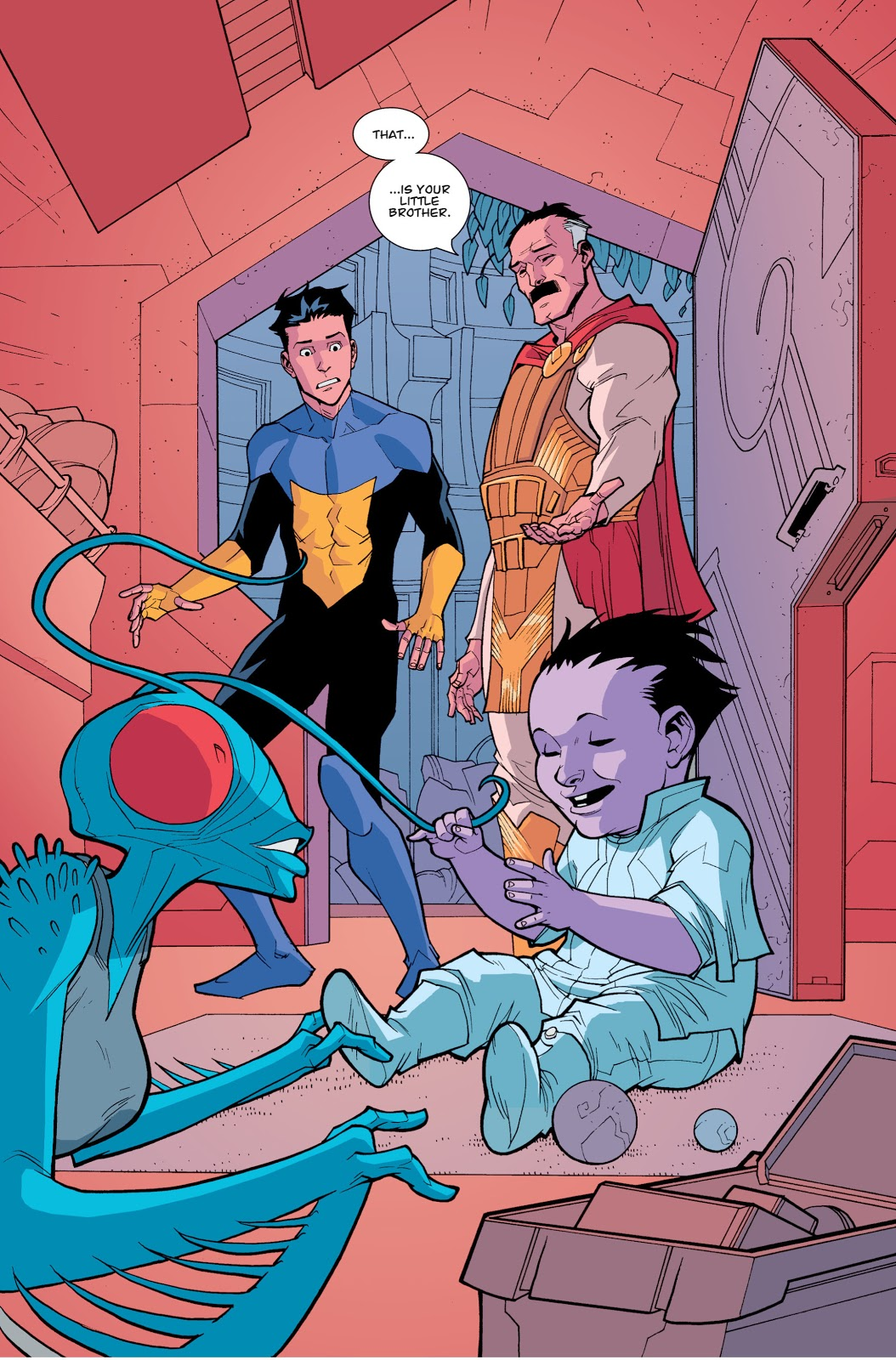 Invincible Discovers He Has A Half Brother