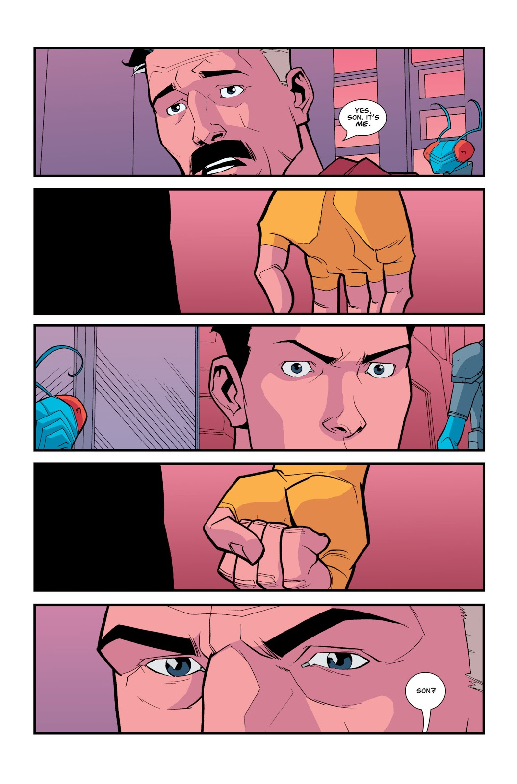 Invincible Reunites With His Father Omni-Man