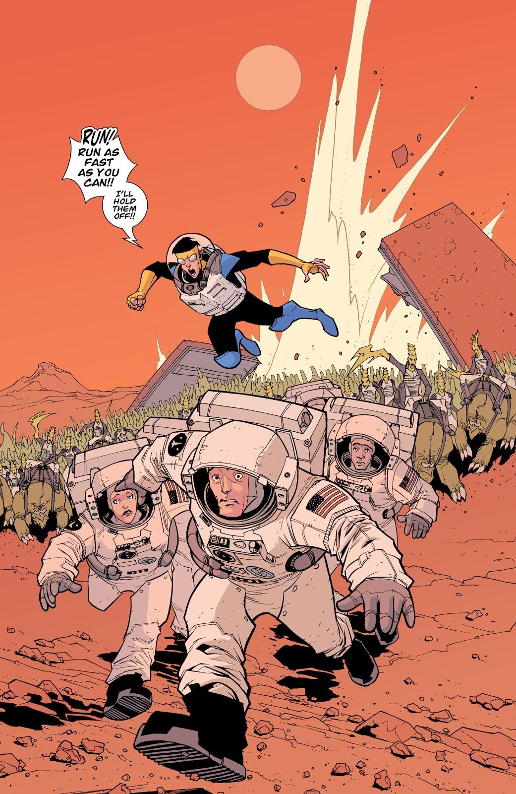 Invincible VS Martians