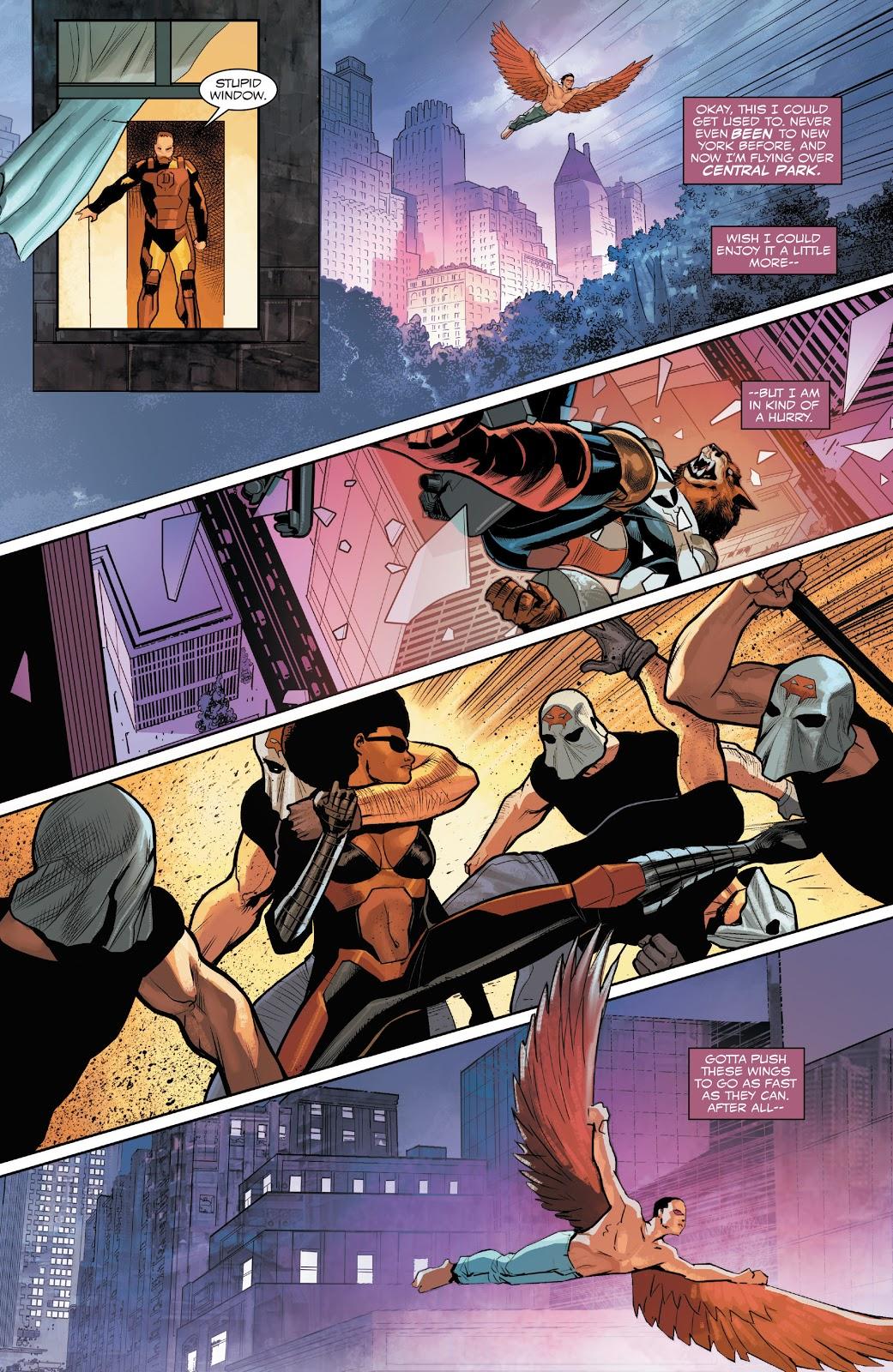 Joaquin Torres Saves Captain America Sam Wilson