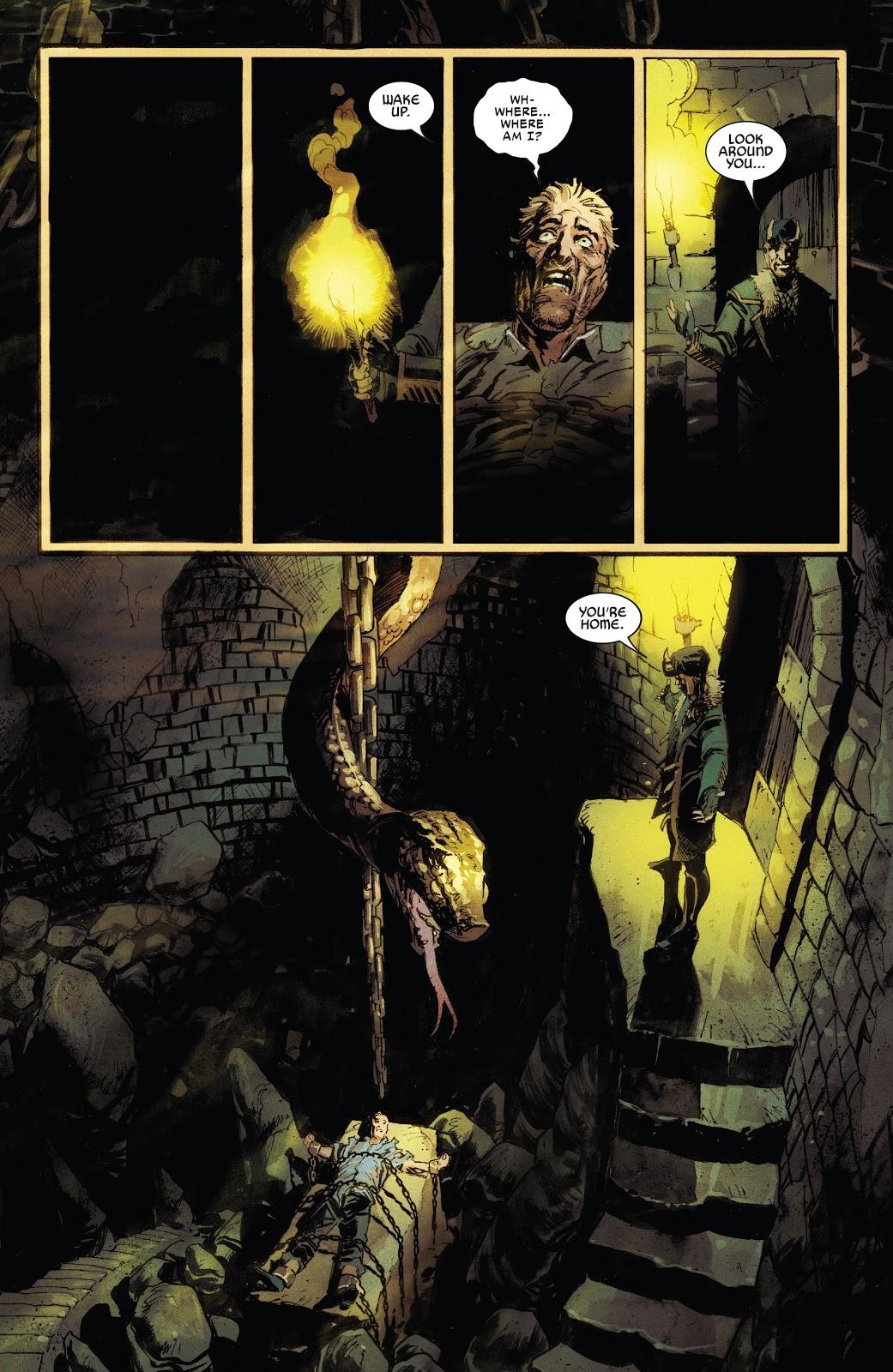 Loki's Punishment For Donald Blake