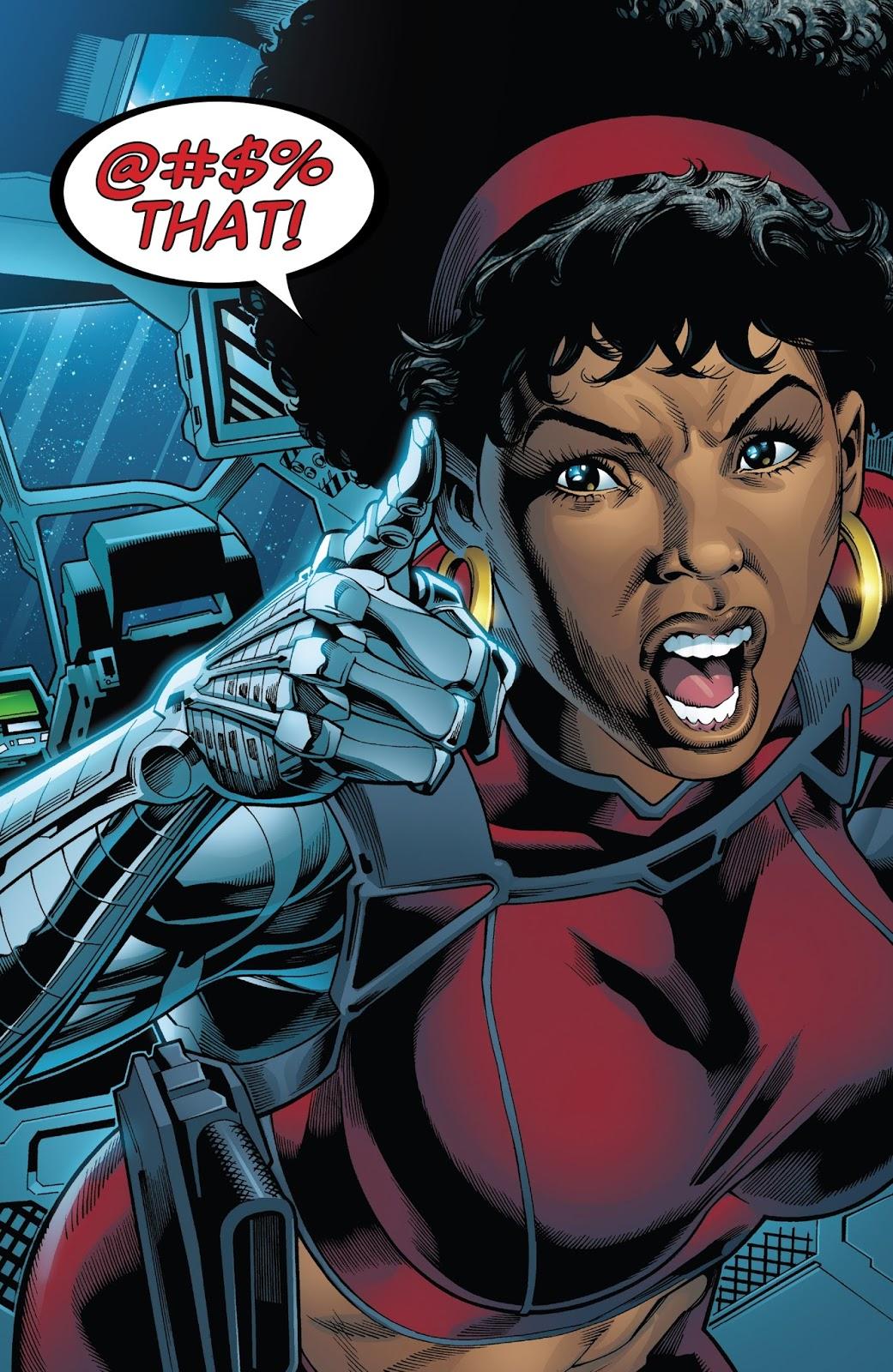 Misty Knight (Captain America: Sam Wilson #24)