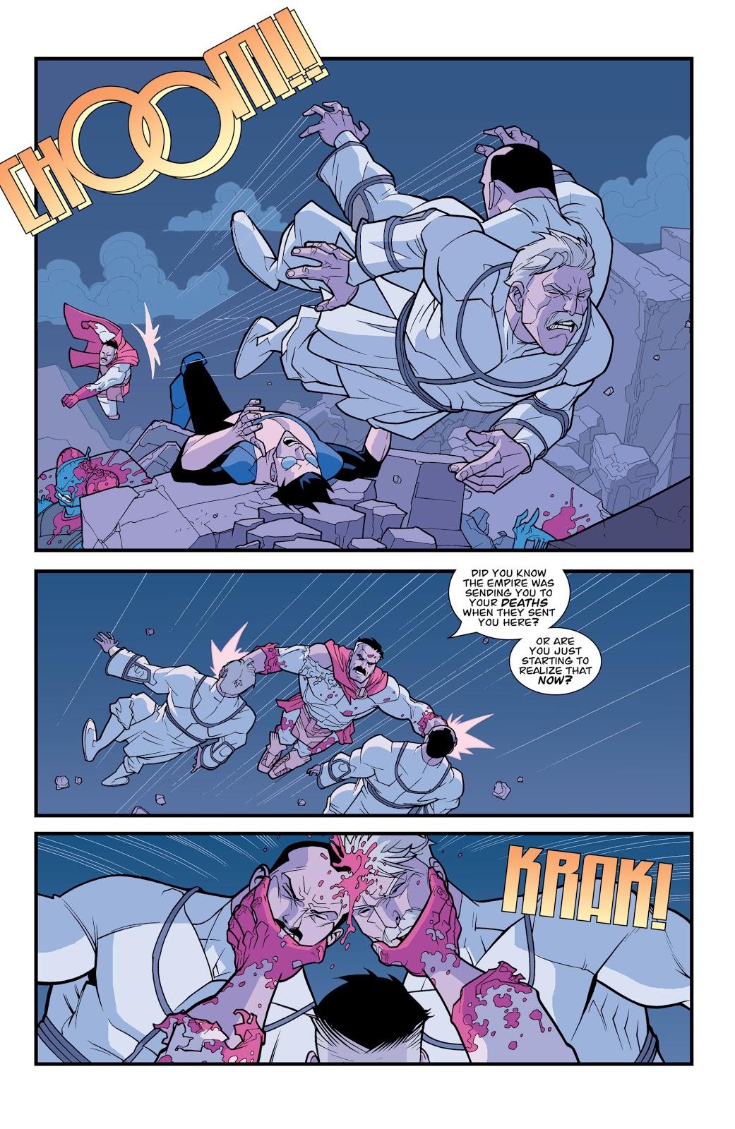 Omni-Man And Invincible VS 2 Viltrumites