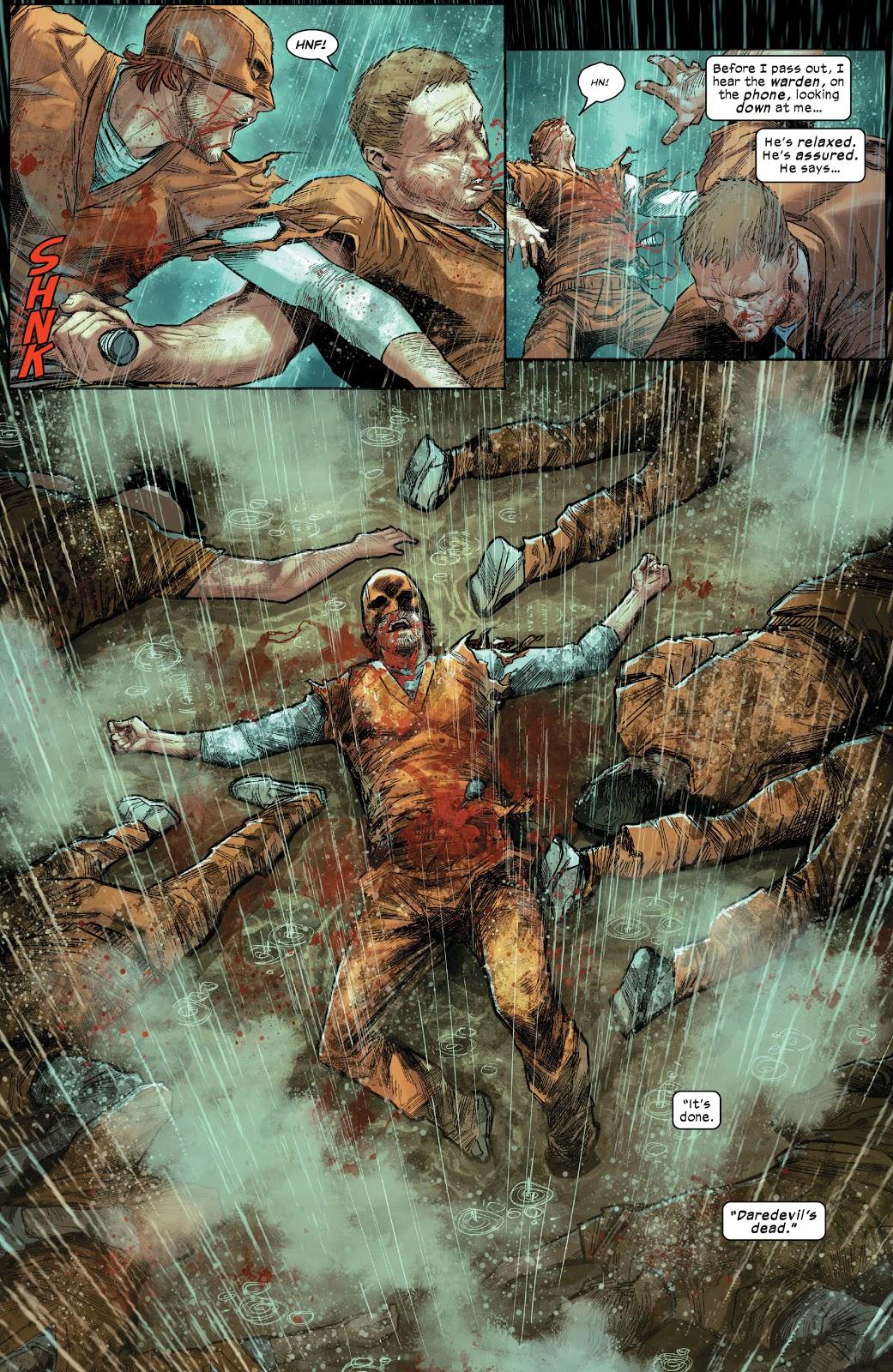 Poisoned Daredevil VS Prison Inmates