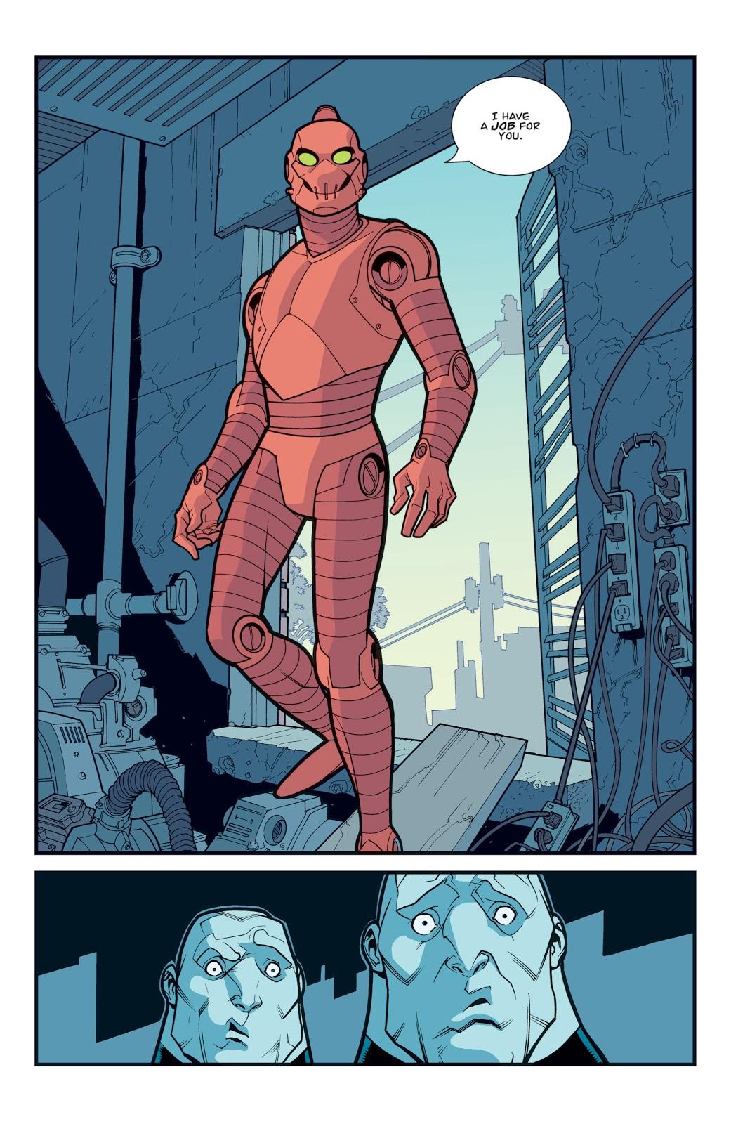 Robot ( Invincible #30)