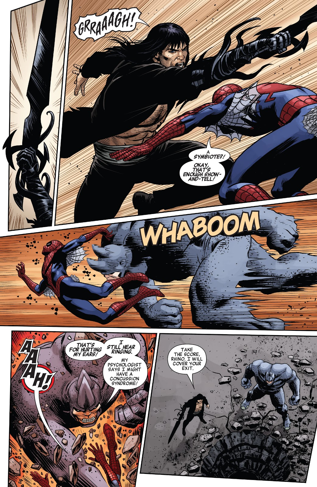 Spider-Man Meets Conan The Barbarian
