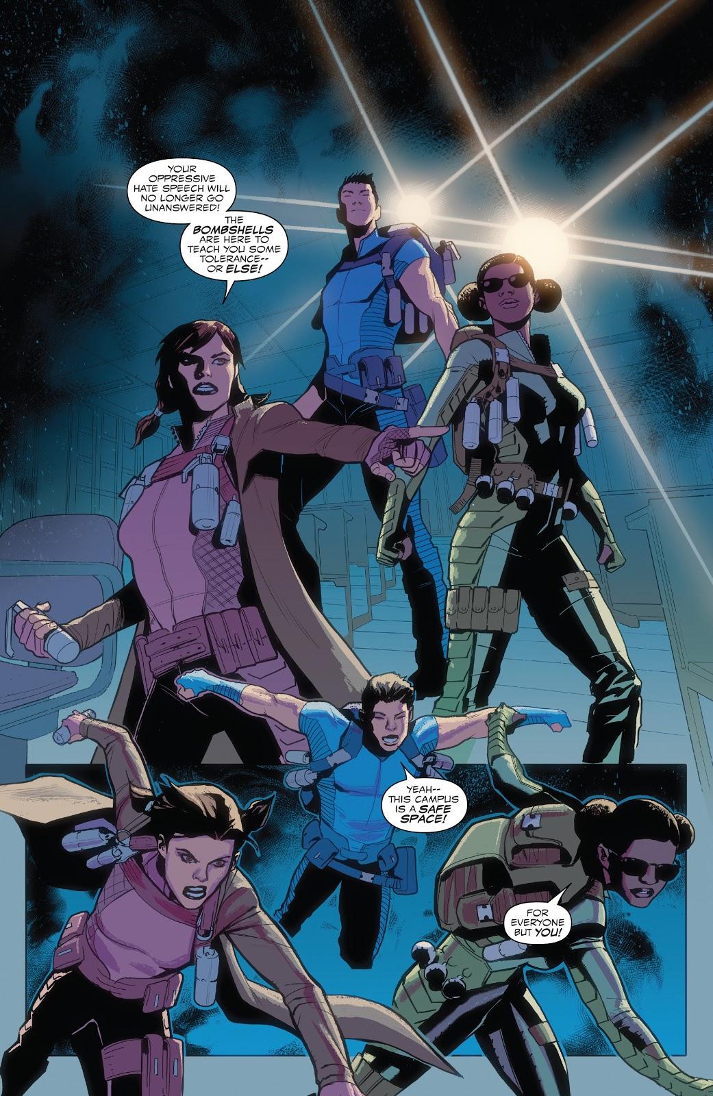 The Bombshells (Captain America: Sam Wilson #17)