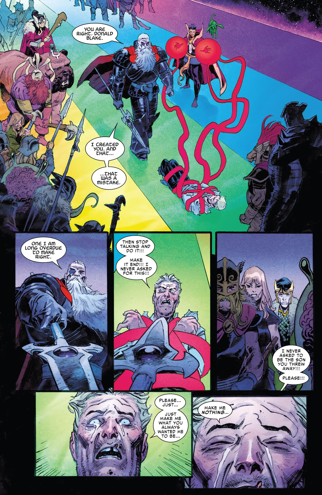 Thor Spares Donald Blake's Life