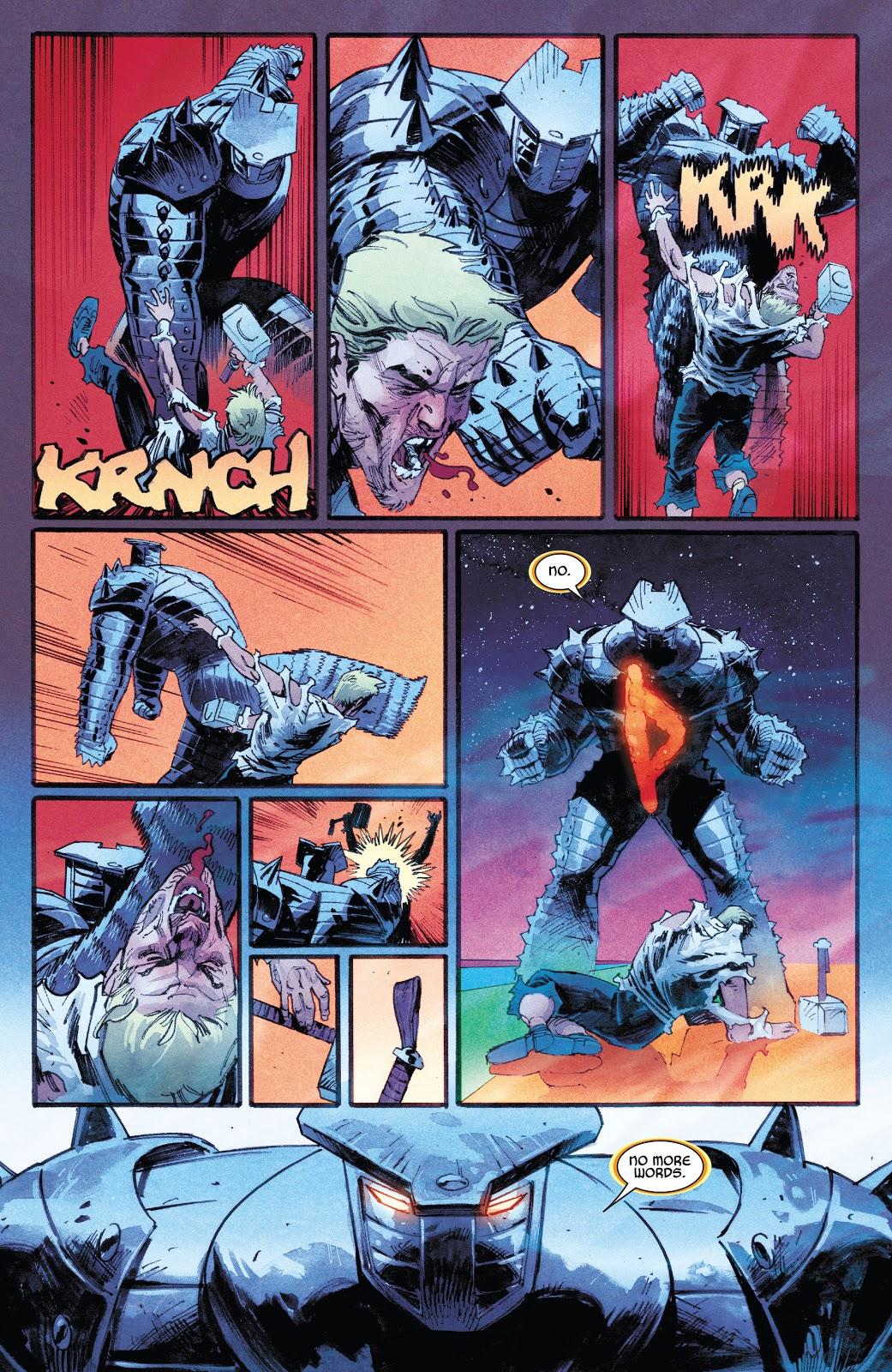Thor (The Destroyer) VS Donald Blake