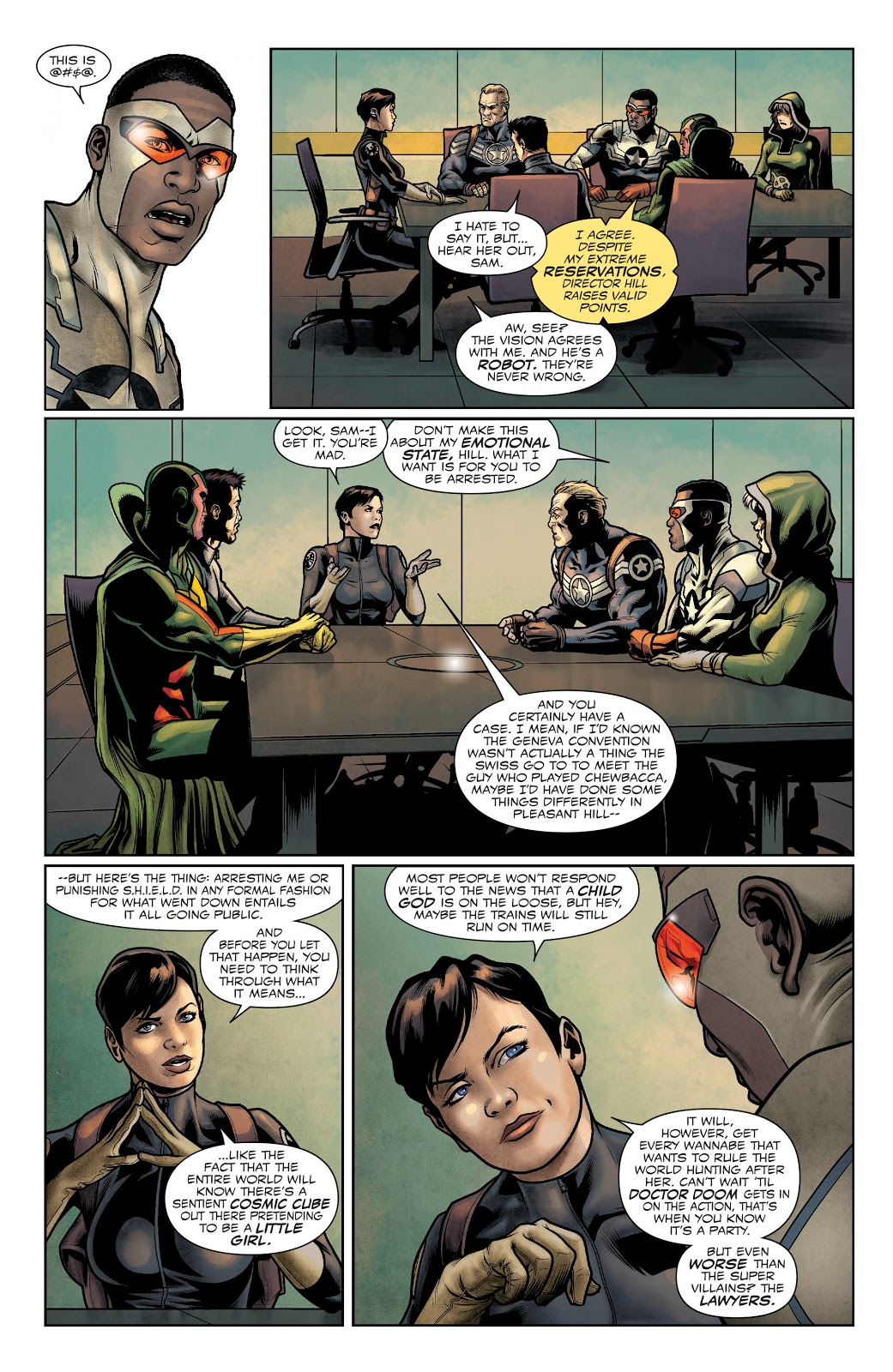 Why Maria Hill Is A Hypocrite