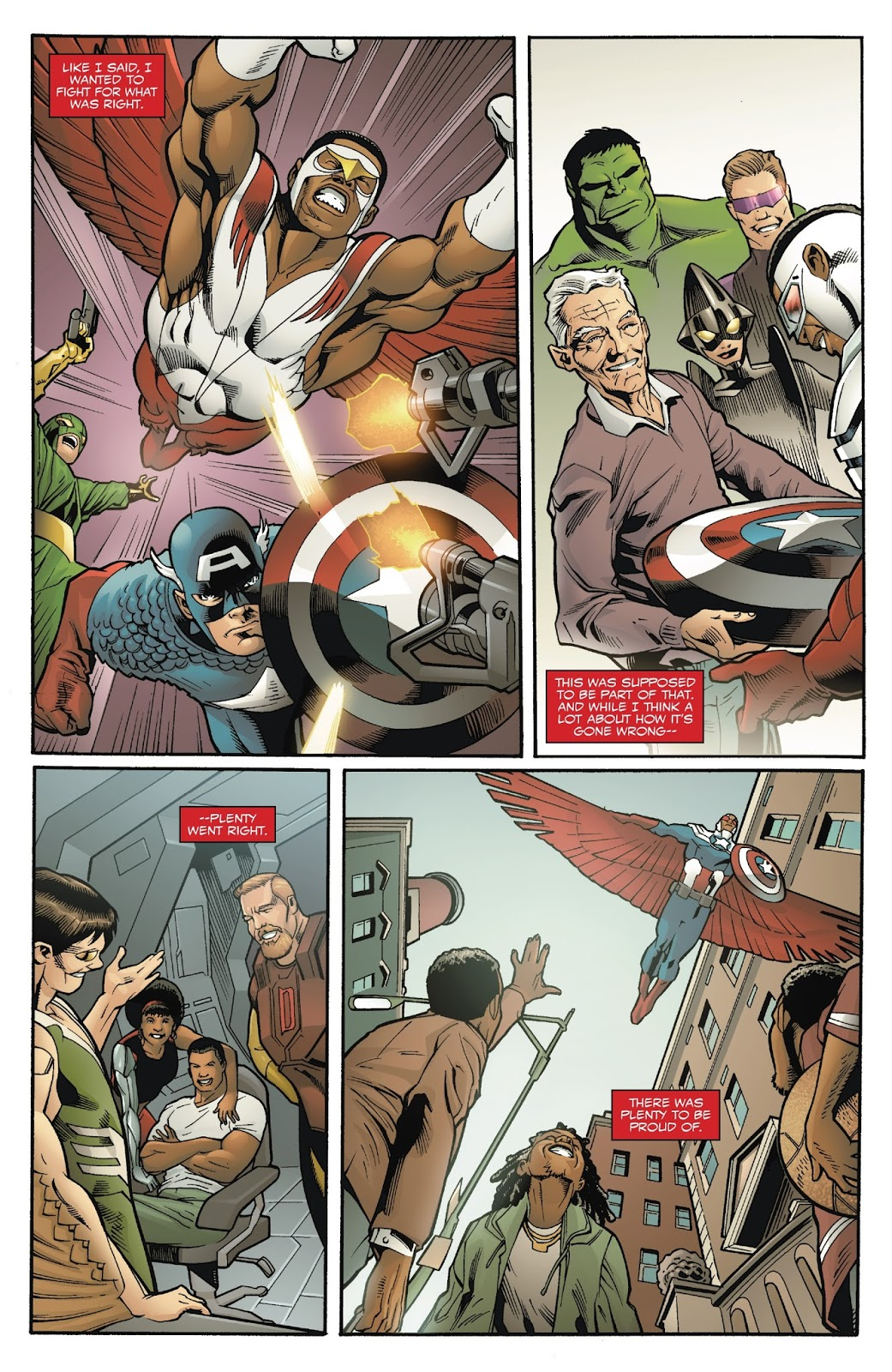 Why Sam Wilson Decided To Be Captain America Again