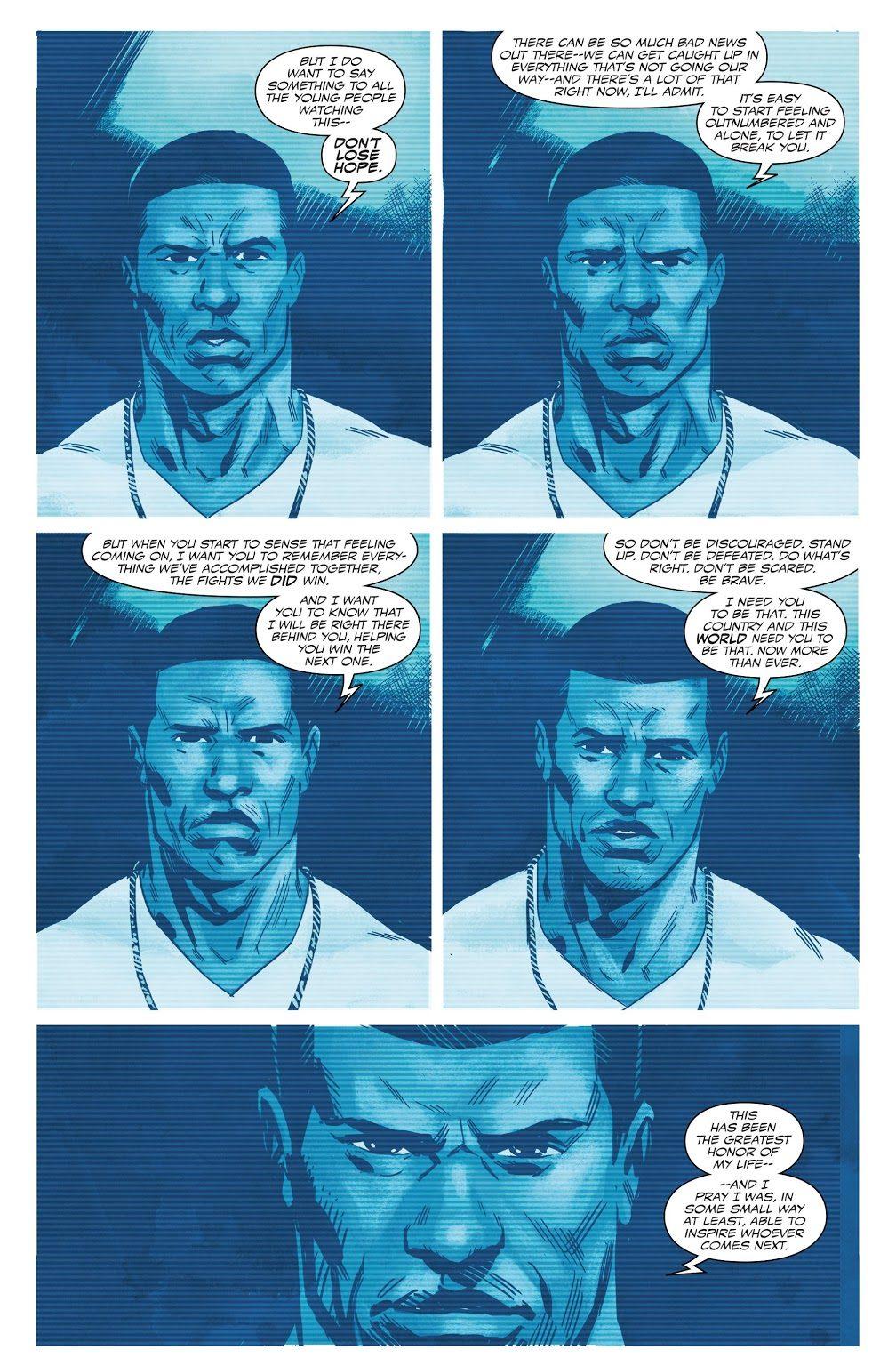 Why Sam Wilson Quit As Captain America