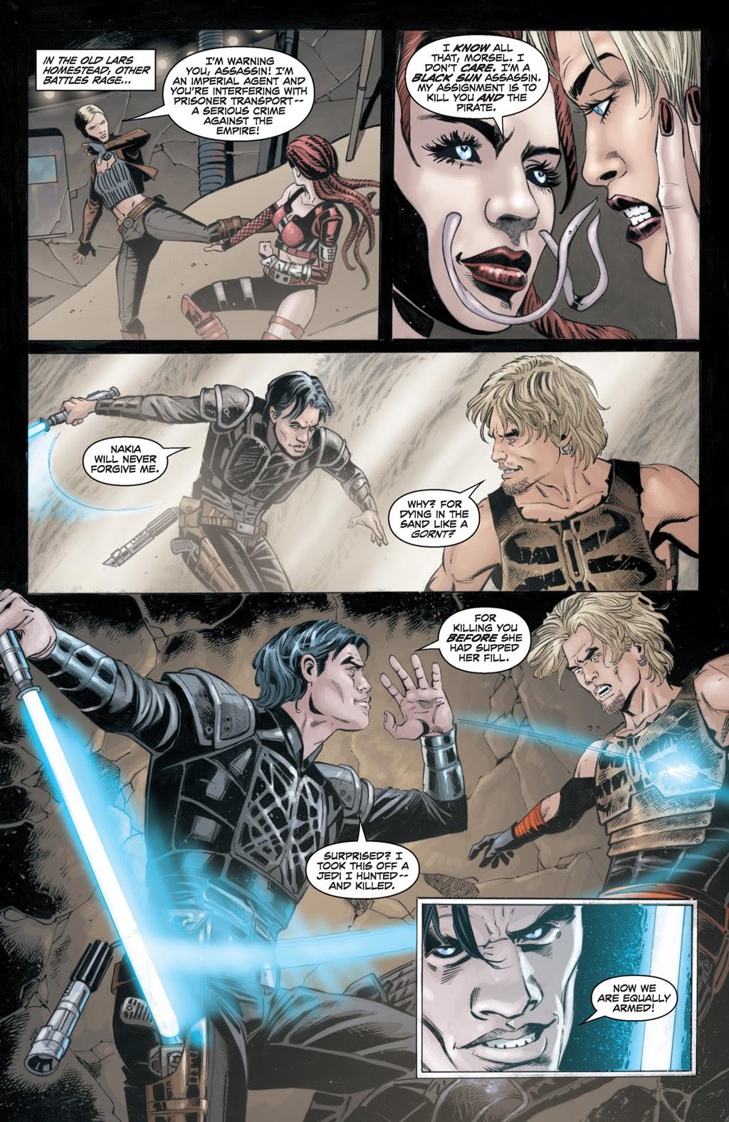 Cade Skywalker VS An Anzati Assassin