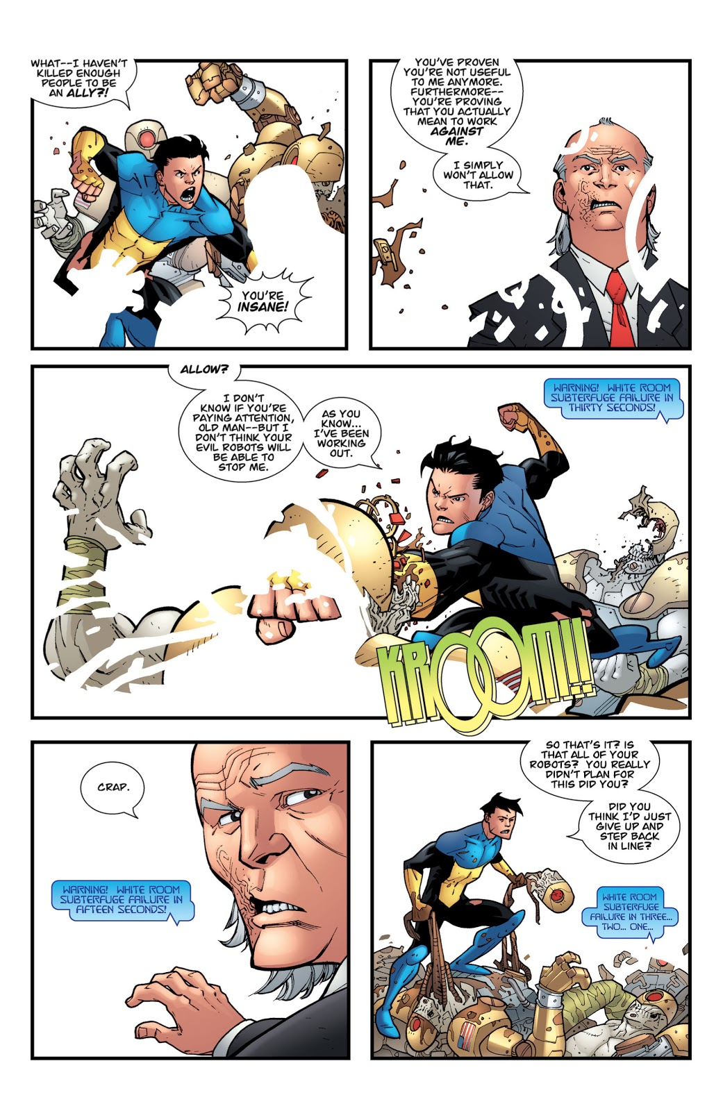 Cecil Stedman's Contingency Plan Against Invincible