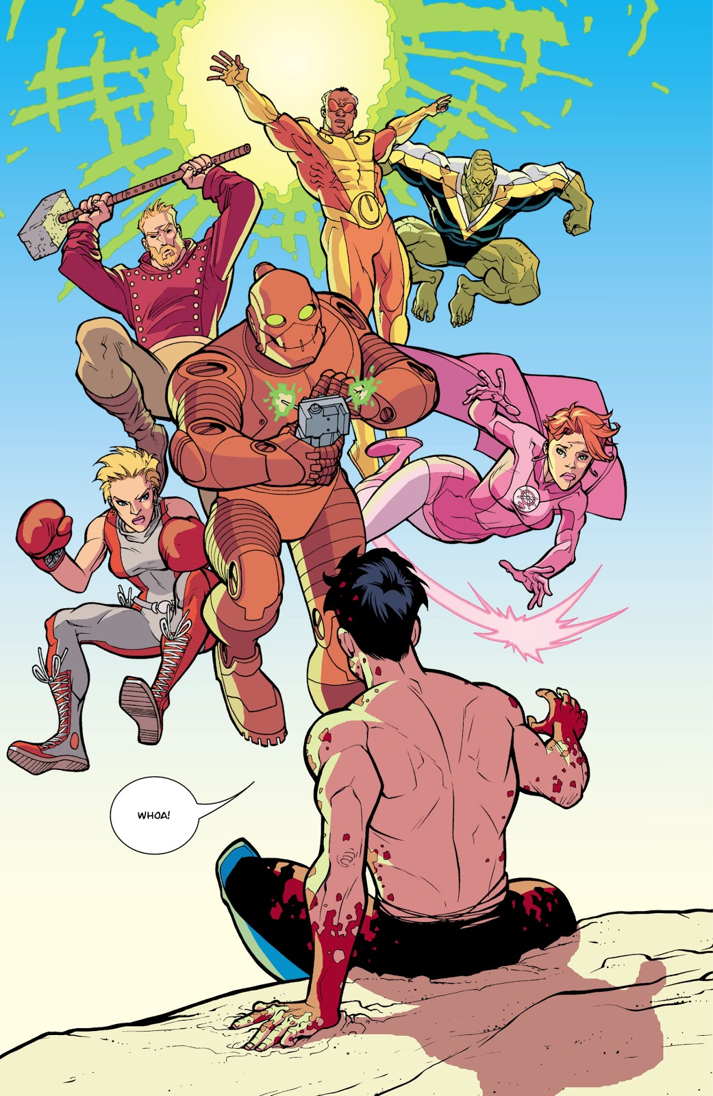 Guardians of the Globe (Invincible #34)