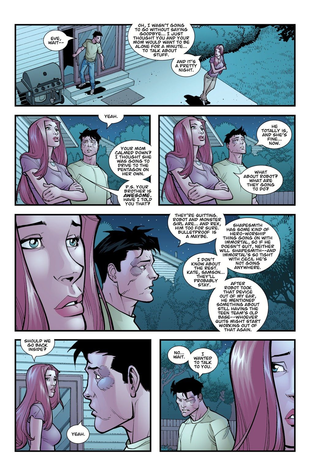 Invincible And Atom Eve Become A Couple
