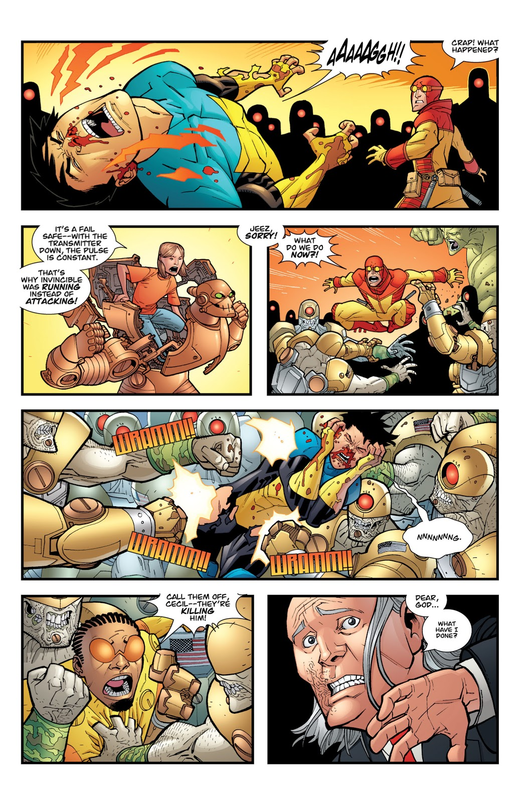 Invincible And Guardians Of The Globe VS Cecil Stedman