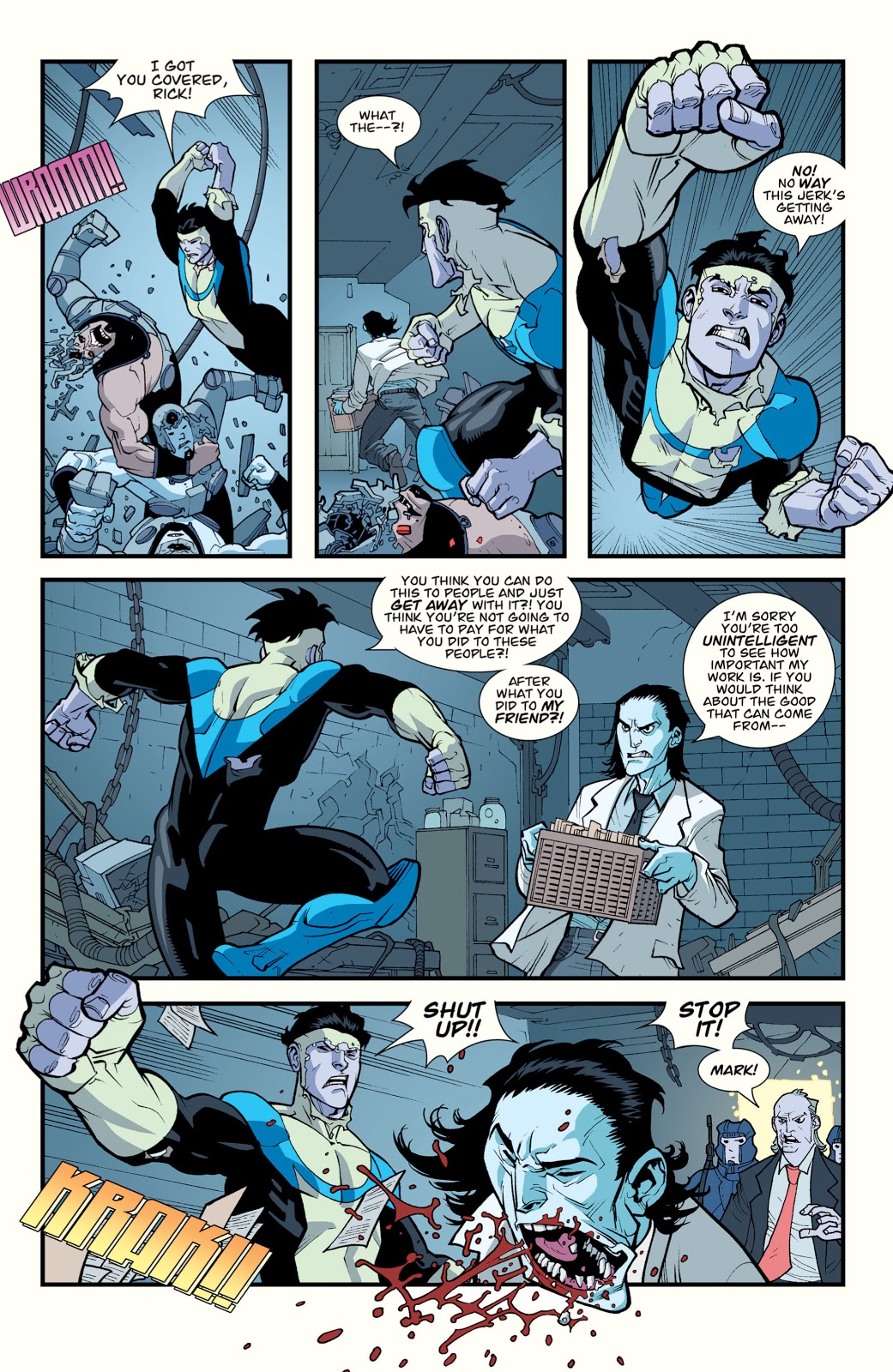 Invincible Punches Off D.A. Sinclair's Jaw