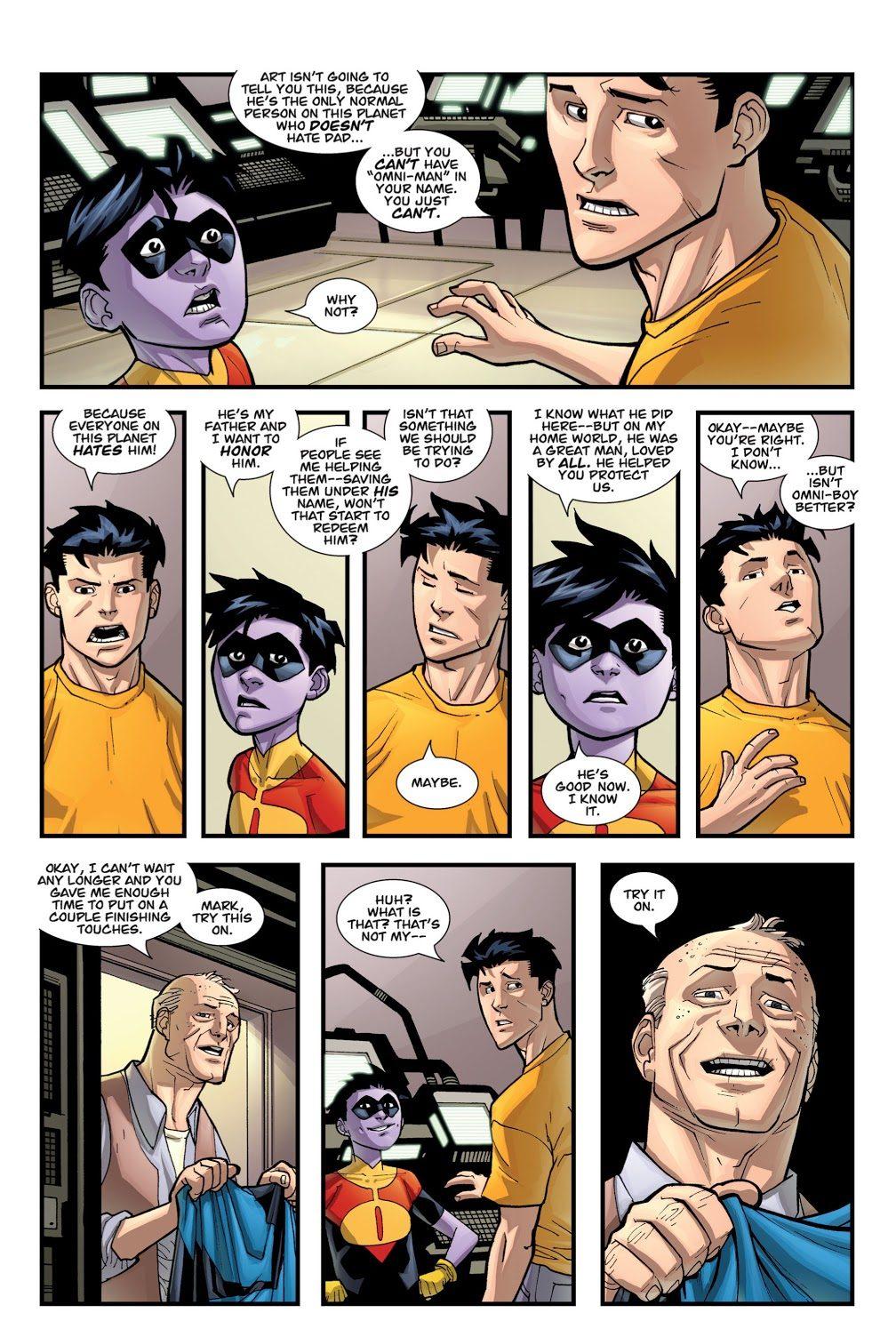 Oliver Grayson Chooses His Super Hero Name