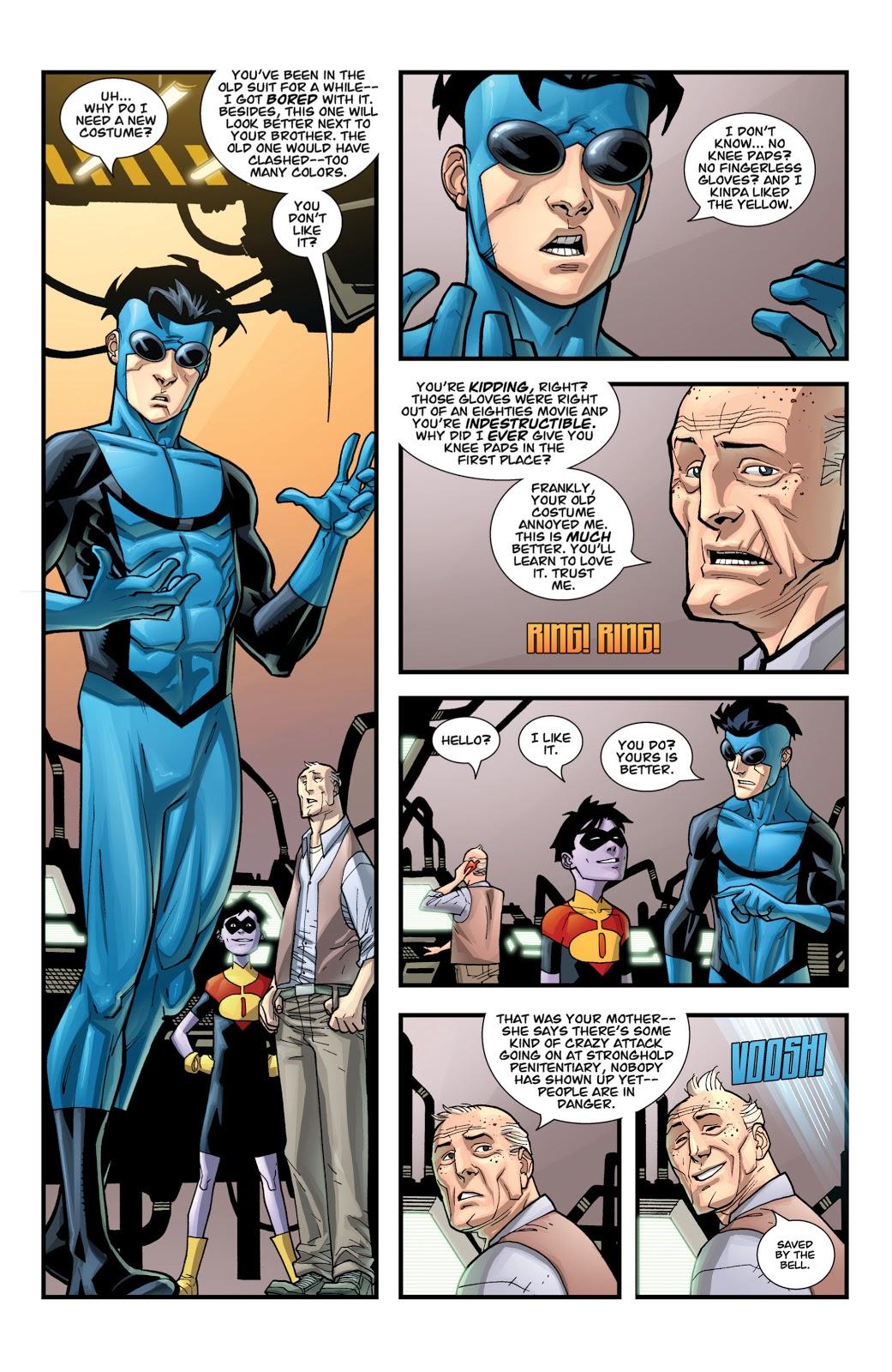 Why Invincible Got A Blue Costume