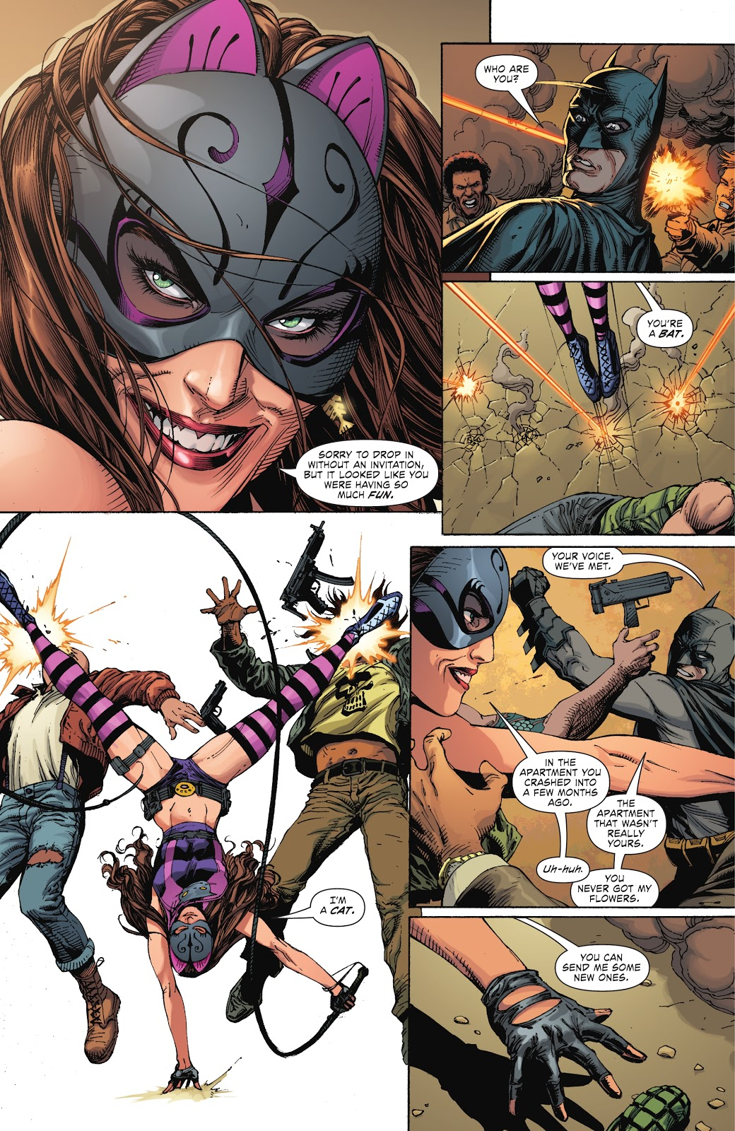 Batman Meets Catwoman (Earth 1)