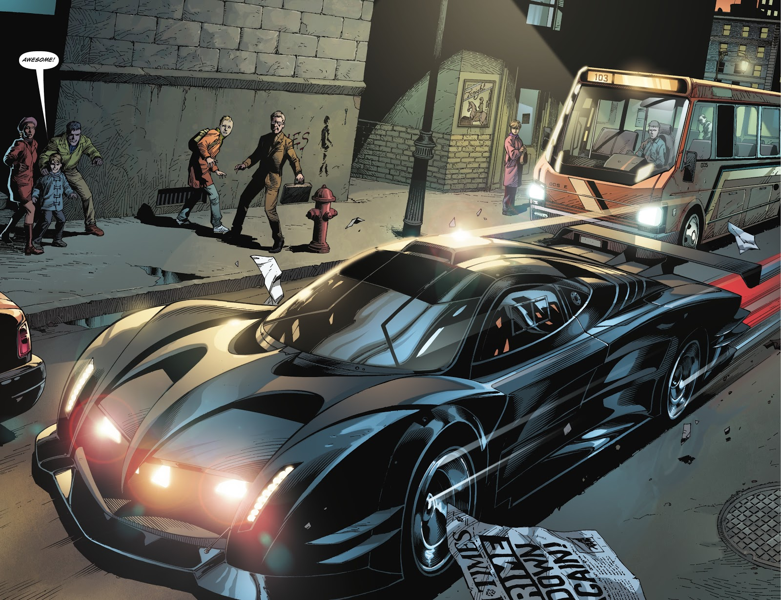 Batman's Batmobile (Earth One)