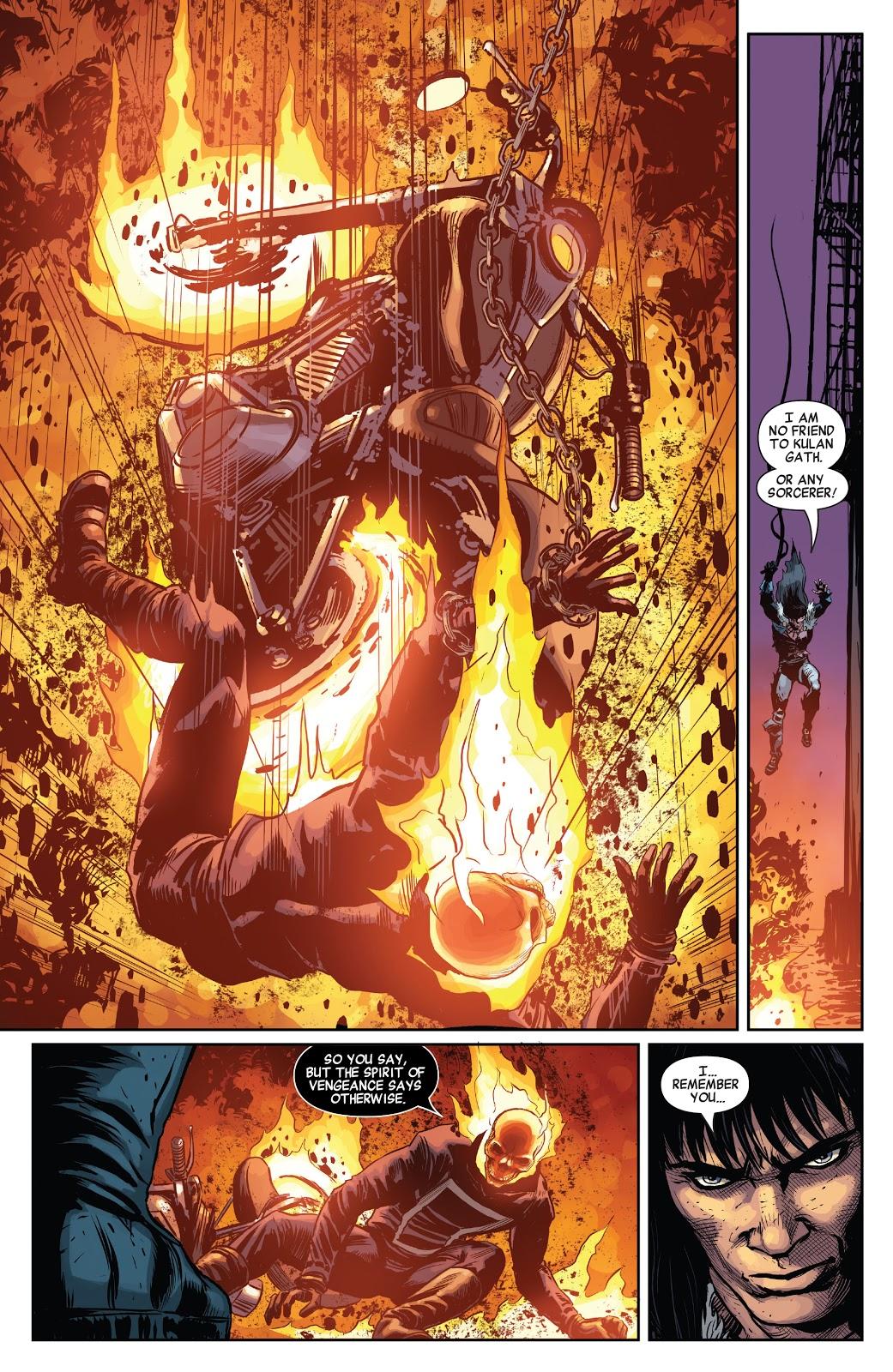 Conan The Barbarian VS Ghost Rider