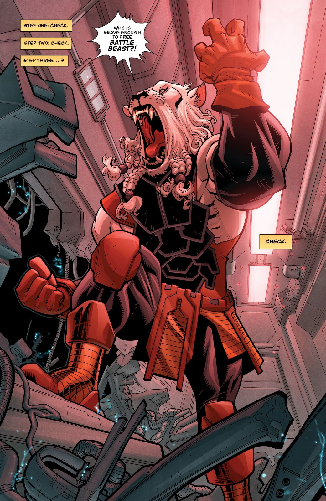 Battle Beast (Invincible #55)