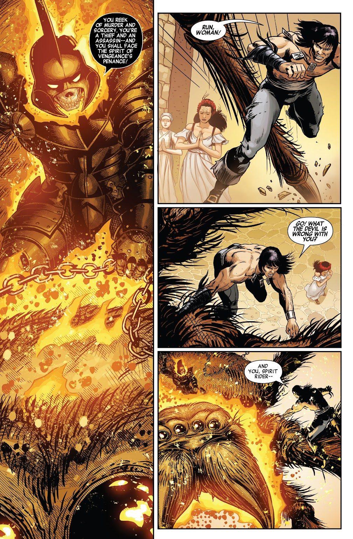 Conan The Barbarian VS Ghost Rider Of Hyboria